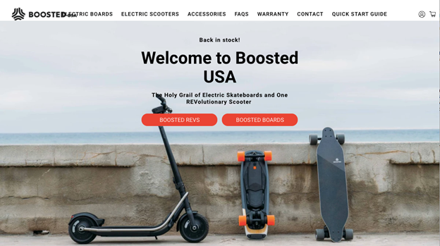 This American website has taken skateboarding to the next level by choosing amazingly detailed pictures of its products