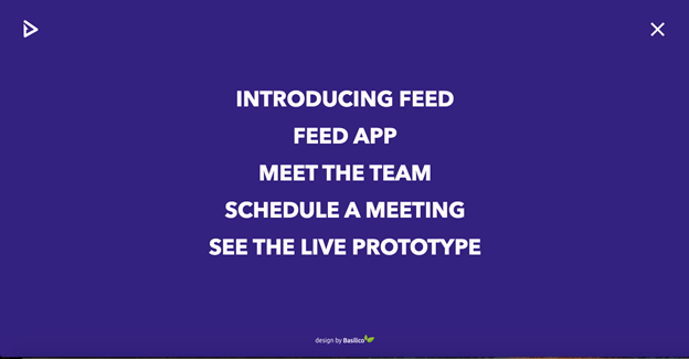 Feed is not just an interesting concept to learn about originality and vision