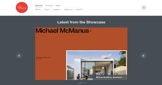 sitesInspire is run by Daniel Howells of Howells Studio