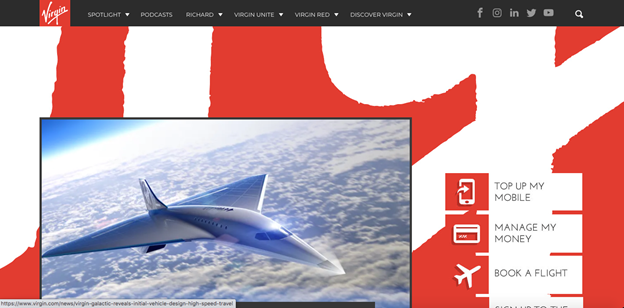 Who has not as yet heard of Virgin America when it comes to pushing usability