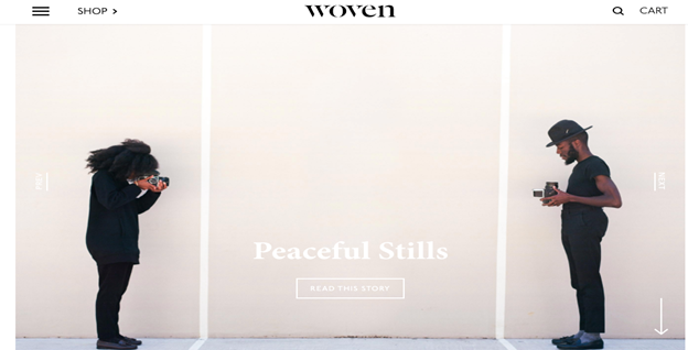 Woven Magazine is an online publication that tends