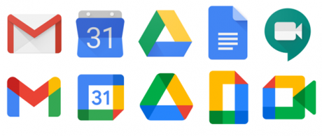 Another Change in G Suite Logos Leave the Audience Fuming