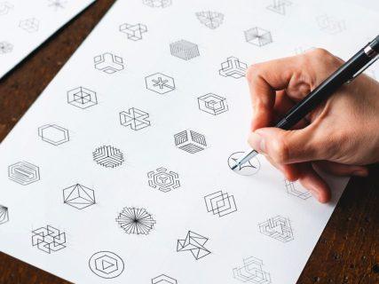 Colors for logo designs- indigo logo design