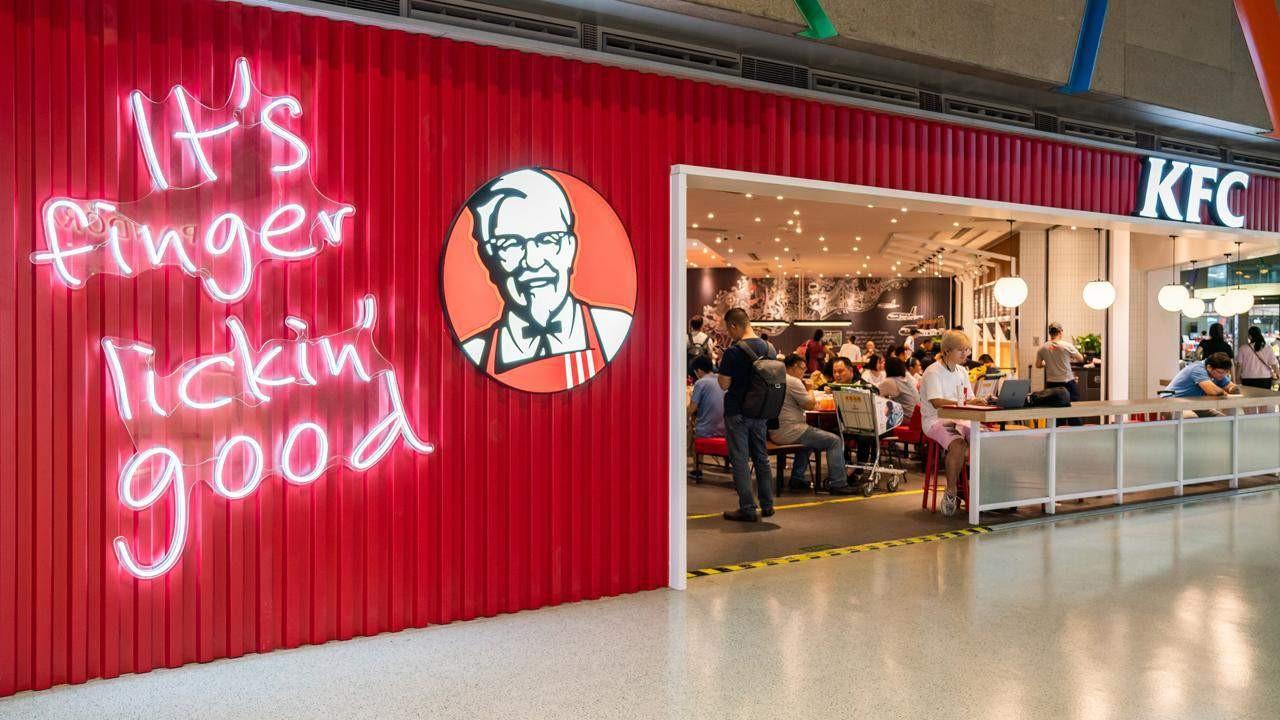 KFC - Branding Services For the Restaurant